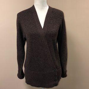 Ralph Lauren Green Label Side Button Sweater L